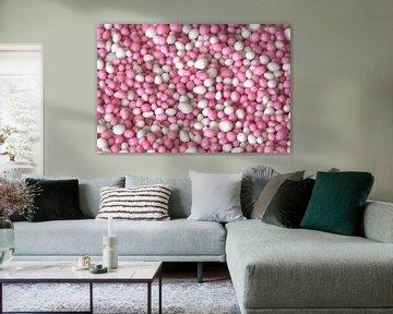 Roze muisjes van MSP Canvas