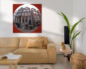 straat in Amsterdam von Georges Hoeberechts
