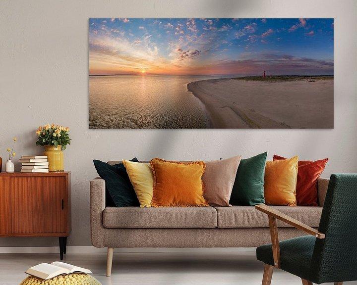 Sfeerimpressie: Vuurtoren Eierland - Texel - zonsopkomst van Texel360Fotografie Richard Heerschap