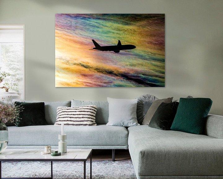 Sfeerimpressie: Regenboog wolken van Martin Boschhuizen