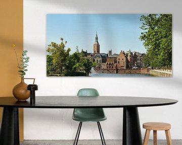Zicht op het oude centrum van Den Haag von Georges Hoeberechts