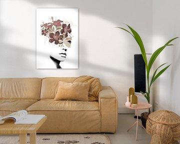 Flower lady II von Dreamy Faces