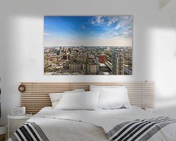 De skyline van Rotterdam vanaf de Delftse Poort van MS Fotografie | Marc van der Stelt