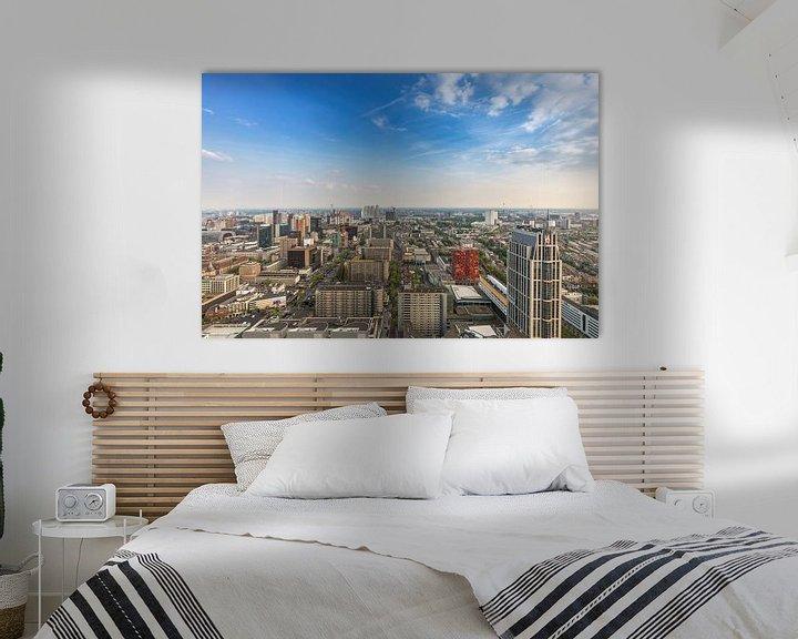 Sfeerimpressie: De skyline van Rotterdam vanaf de Delftse Poort van MS Fotografie | Marc van der Stelt