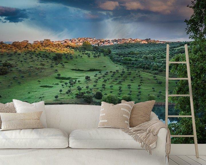 Sfeerimpressie behang: Miranda do Douro van Anneke Hooijer