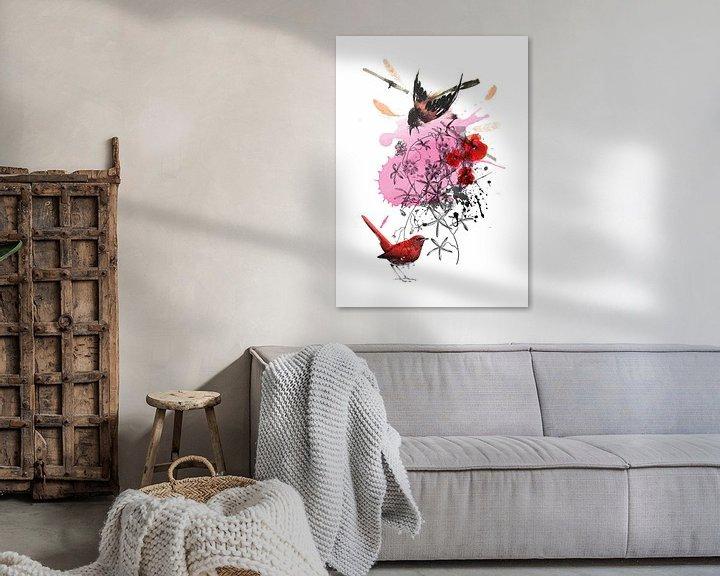 Sfeerimpressie: Love Birds van Inge Buddingh