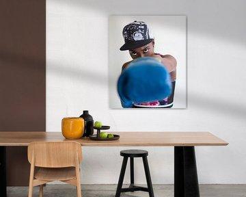 Blue boxing von peterheinspictures