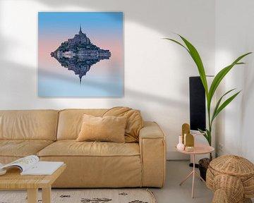 Mont Saint Michel van Rene Ladenius Digital Art