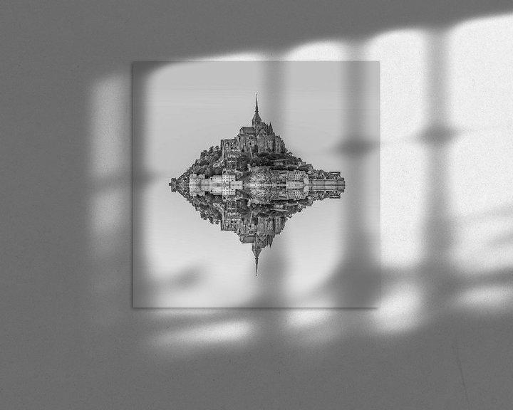Sfeerimpressie: Le Mont Saint Michel van Rene Ladenius Digital Art