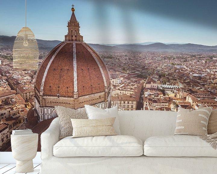 Sfeerimpressie behang: Florence Duomo van Ronne Vinkx