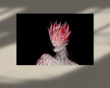 Tropische Protea-Blüte von Dreamy Faces