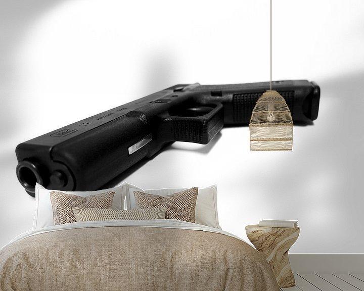 Beispiel fototapete: Pistole von Wouter Glashouwer