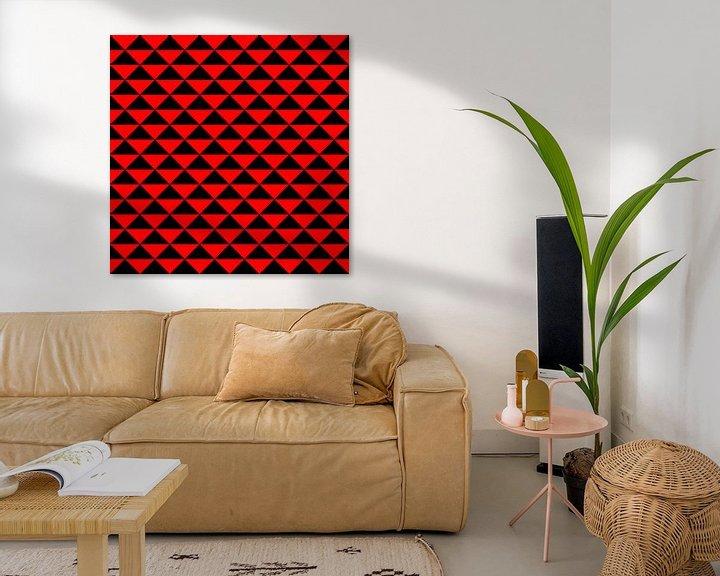 Beispiel: schwarz und rot von Falko Follert