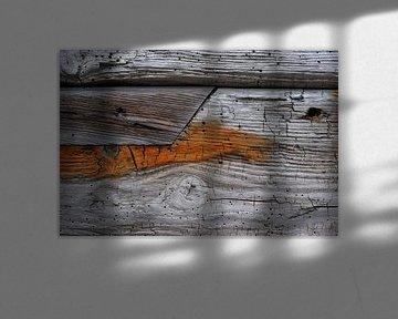 Old Wood Bryggen VIII von Cor Ritmeester