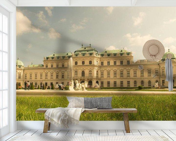 Sfeerimpressie behang: Belvedere 4 van Bart Berendsen