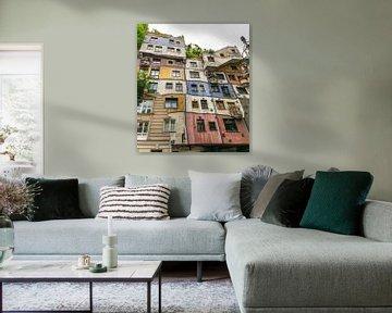 Hundertwasserhaus Wien von Bart Berendsen