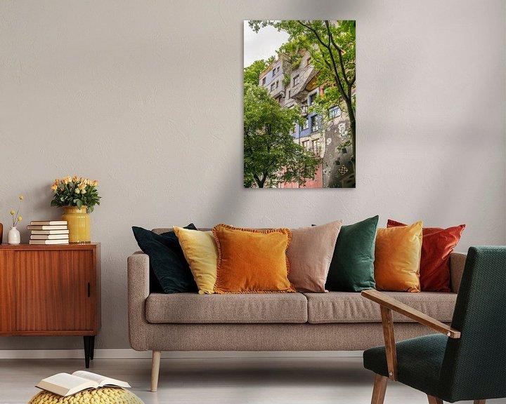 Sfeerimpressie: Hundertwasserhaus 2 van Bart Berendsen