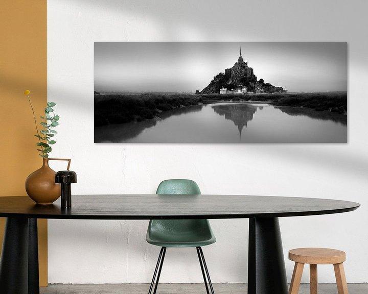 Sfeerimpressie: Mont Saint-Michel panorama van Niels Devisscher