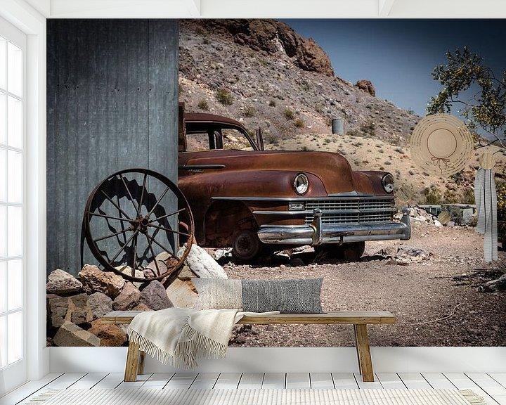 Sfeerimpressie behang: Chrysler Oldtimer van Inge van den Brande