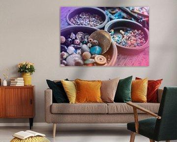 Kleur, kleur en nog eens kleur! van Coco Gonzalez