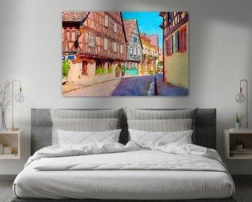 Colmar town, France von Ariadna de Raadt