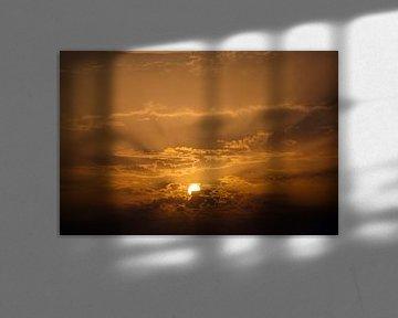 Zonnestralen van Lex Schulte