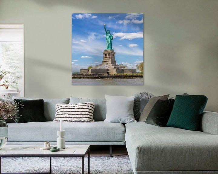Sfeerimpressie: NEW YORK CITY Vrijheidsbeeld van Melanie Viola