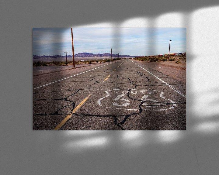 Sfeerimpressie: Route 66 van Tineke Visscher
