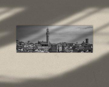 Monochrome Toskana im Format 6x17, Siena von Teun Ruijters