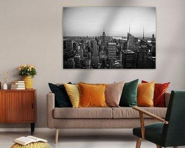 New York van Rockerfeller Center | Art print | Skyline New York van Mascha Boot
