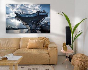 Intrepid Marine vessel | New York Haven | Photographie | Tirage d'art sur Mascha Boot