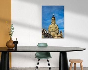 Historical buildings in Dresden, Germany van Rico Ködder