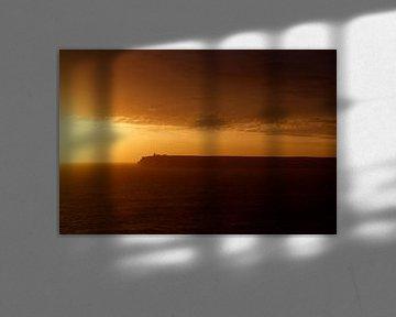 Zonsondergang Cabo de São Vicente  Sagres - Portugal  van Jacqueline Lemmens