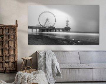De Pier in Scheveningen #2 von Herwin Wielink