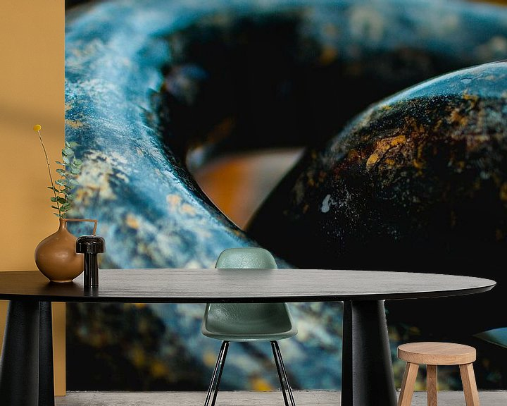 Sfeerimpressie behang: Abstract van Jelle  Beuzekom