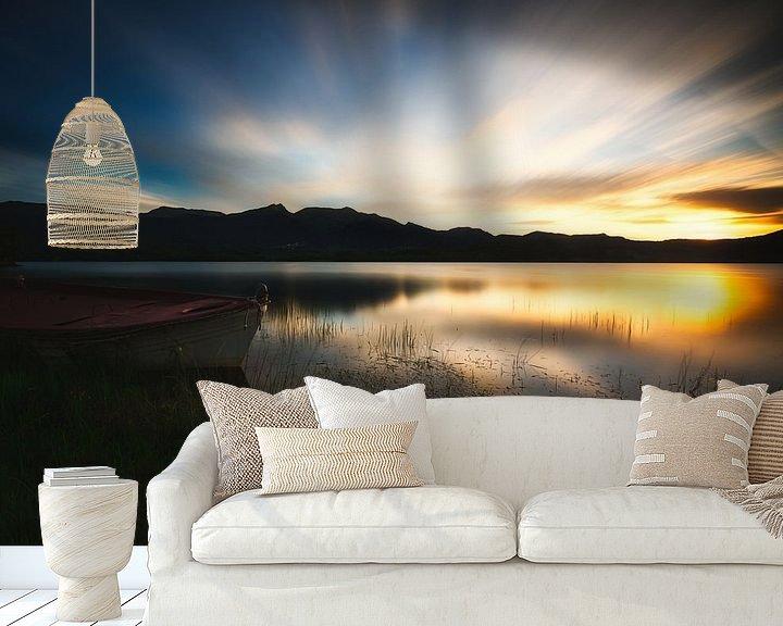 Sfeerimpressie behang: laatste licht van Konstantinos Lagos