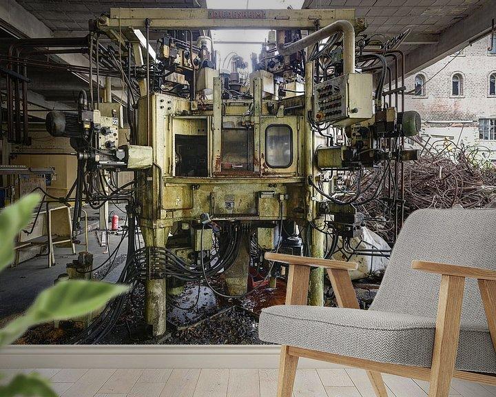 Sfeerimpressie behang: Transformer van Herwin Wielink