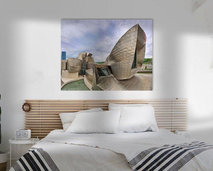 Sfeerimpressie: Guggenheim Museum Bilbao- architect Frank Gehry van Dirk Verwoerd