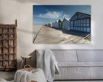 Beach Cabins van Menno Schaefer