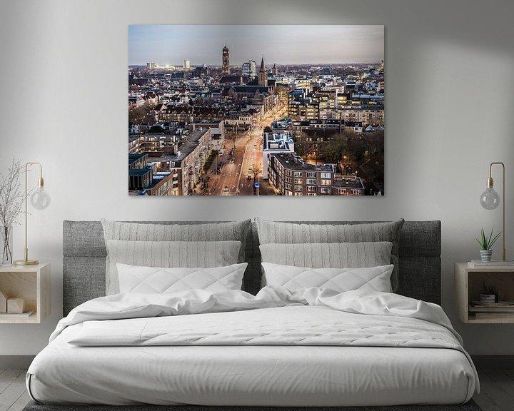 Sfeerimpressie: Prachtig uitzicht over Utrecht van De Utrechtse Internet Courant (DUIC)