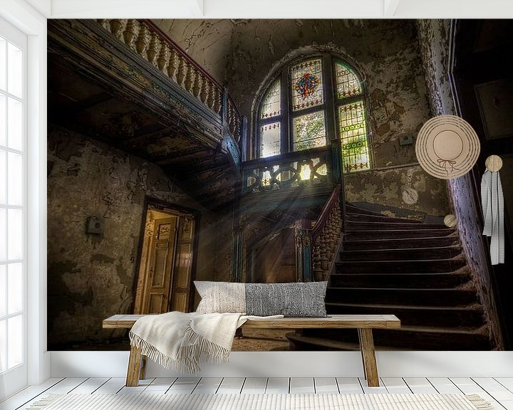 Sfeerimpressie behang: Dark Decay van Henny Reumerman