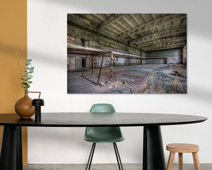 Sfeerimpressie: Gymzaal van Henny Reumerman