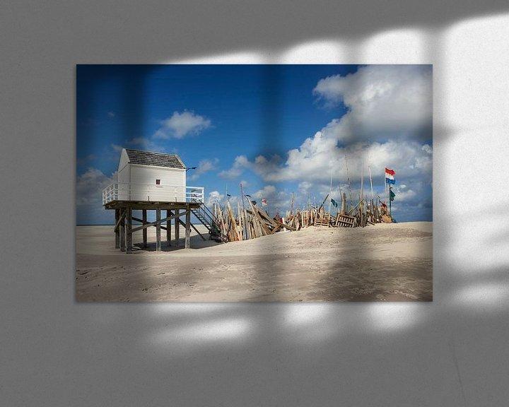 Beispiel: Vlieland Waddenzee Strand von Martin Rijpstra