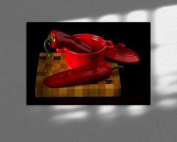 Poivre rouge pointu sur Christophe Fruyt