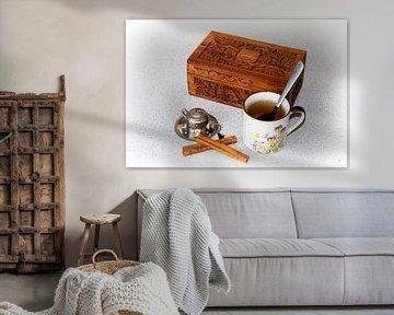 Ausruhen mit einer Tasse Tee von Christophe Fruyt