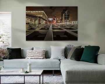 Leading lines Wilhelminaplein, Rotterdam von Peter Hooijmeijer