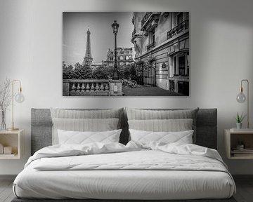Pariser Charme | Monochrom von Melanie Viola