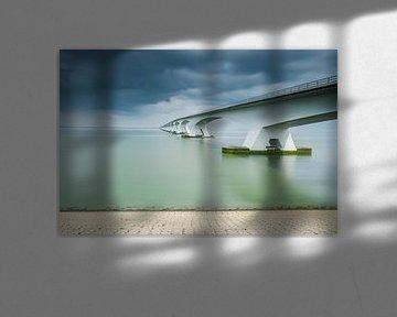 Lange sluitertijd Zeelandbrug (X)