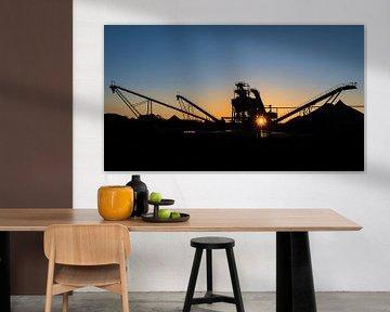 Zandwin installatie silhouet van Lynxs Photography