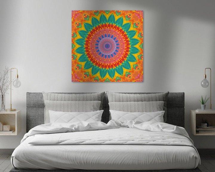 Sfeerimpressie: Mandala type 4 van Marion Tenbergen